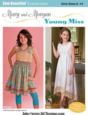 Sew Beautiful Mary and Morgan Young Miss